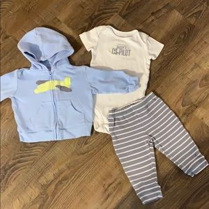 Just One You by Carter's Daddy's Co-Pilot Outfit